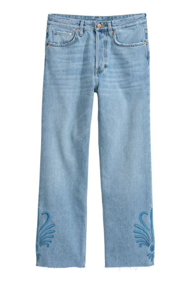 Original Straight Jeans - Light blue denim - Ladies | H&M