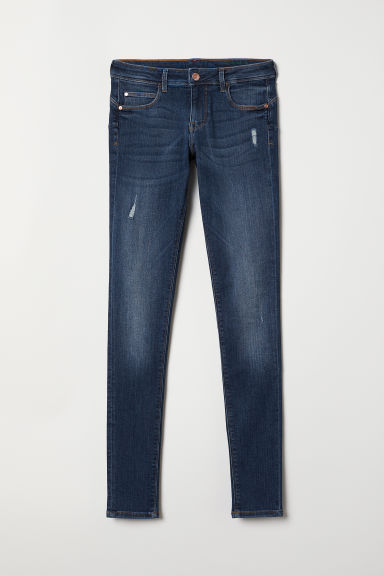 Push up Jeggings Low Waist - Blu denim scuro - DONNA | H&M IT