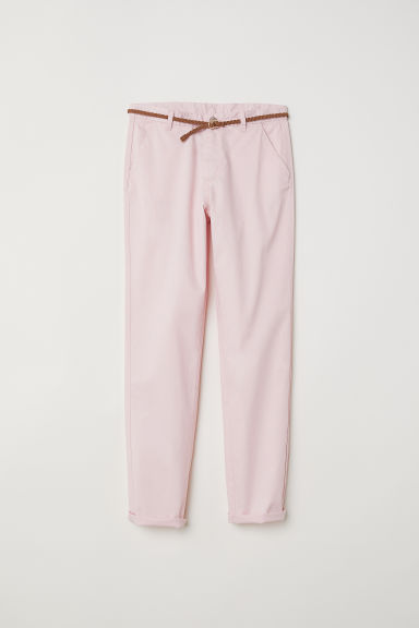 Chino - Lichtroze - KINDEREN | H&M BE
