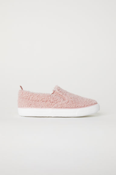 Slip-on trainers - Powder pink - Kids | H&M