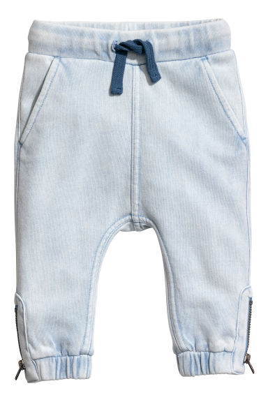Joggers - Blu ghiaccio washed out - BAMBINO | H&M IT