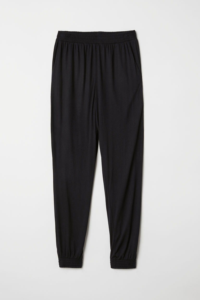 Harem trousers - Black - Ladies | H&M CN