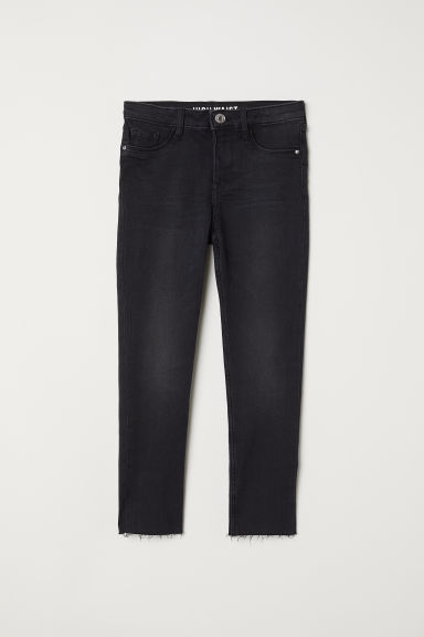 Skinny Fit High Waist Jeans - Zwart -  | H&M BE