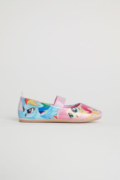 Patterned ballet pumps - Pink/My Little Pony - Kids | H&M