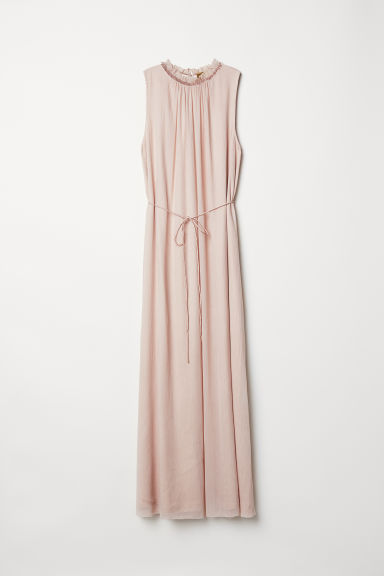Sleeveless dress - Beige - Ladies | H&M CN