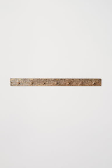 Houten wandhanger - Beige/hout - HOME | H&M BE