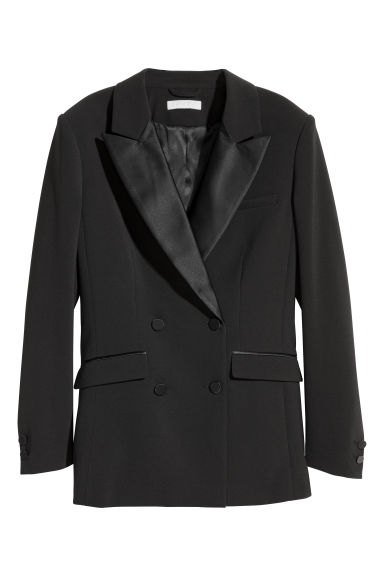 Tuxedo jacket - Black - Ladies | H&M IE