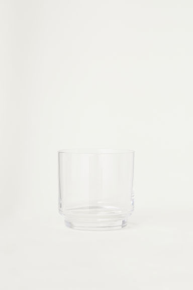 Small tumbler - Clear glass - Home All | H&M CN