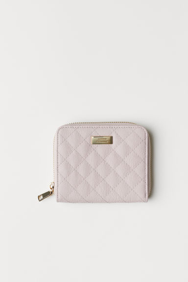 Wallet - Powder pink/Quilted -  | H&M CN