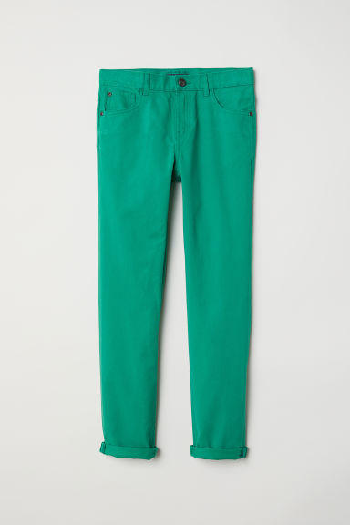 Pantaloni Regular fit in twill - Verde - BAMBINO | H&M IT