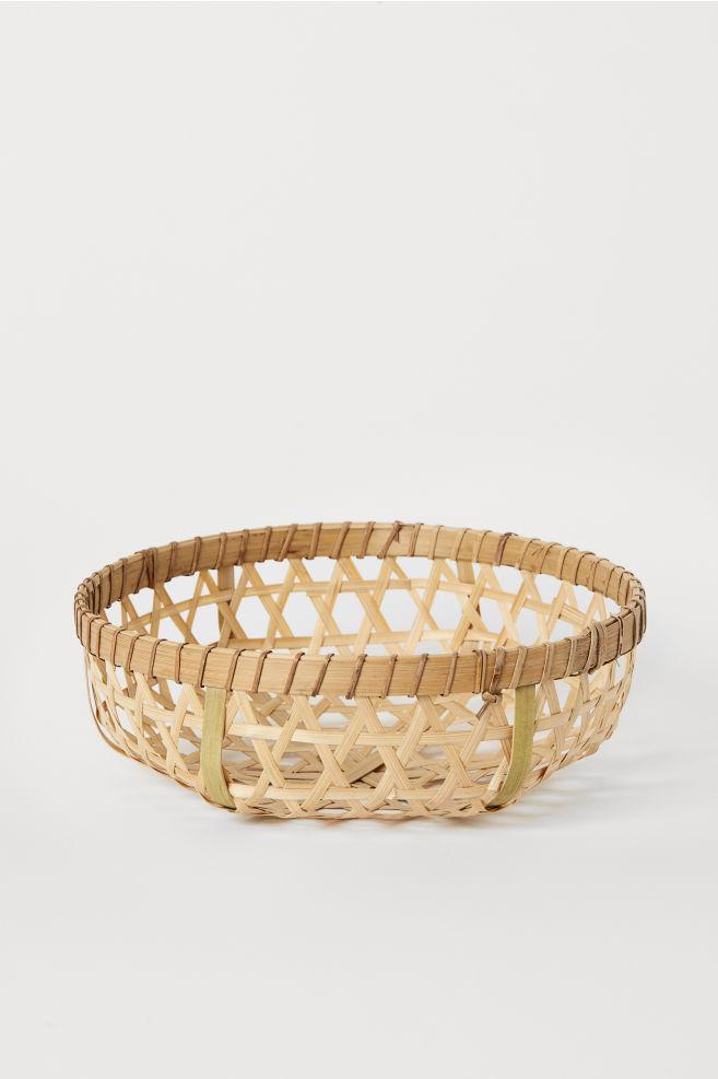 70ae92e99adc Bamboo bread basket - Light beige - Home All