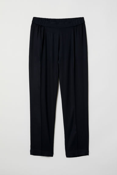 Pantaloni pull-on - Nero - DONNA | H&M IT
