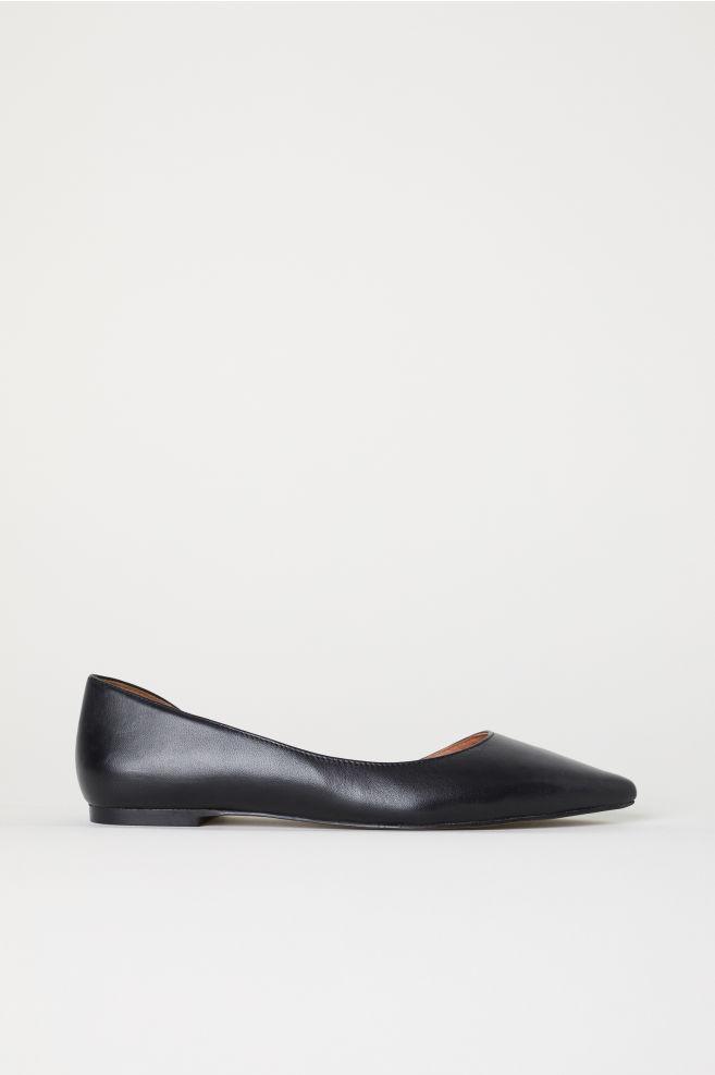 4f487a13f Pointed Flats - Black - Ladies | H&M ...