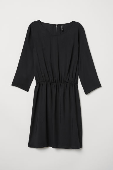 Short dress - Black - Ladies | H&M GB