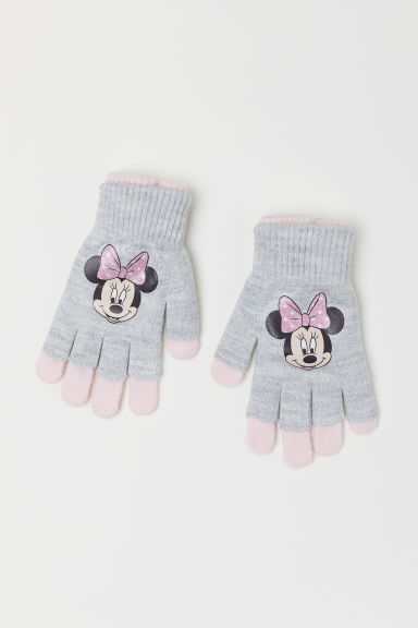 Gloves/fingerless gloves - Light pink/Minnie Mouse - Kids | H&M CN