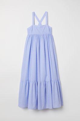 Pitkä hihaton mekko b82d4241fa