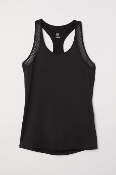 Canotta da running - Nero - DONNA | H&M IT