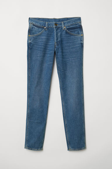 Retro Slim Jeans - Blu denim - UOMO | H&M IT