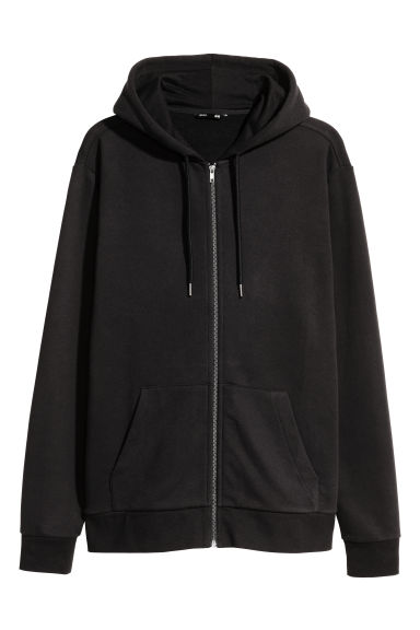 Hooded jacket Regular fit - Black - Men | H&M CN