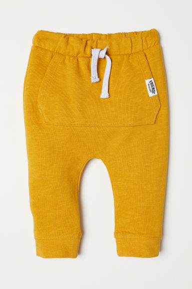 Joggers - Yellow - Kids | H&M CN