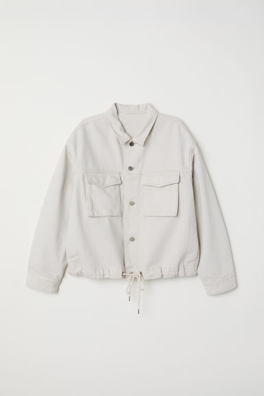 Utility jacket - Light beige -  | H&M