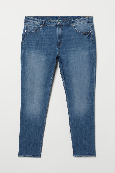 H&M+ Girlfriend Regular Jeans - Denim blue - Ladies | H&M US