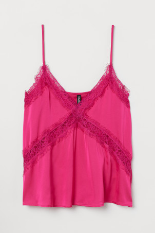 Camisole Top with Lace