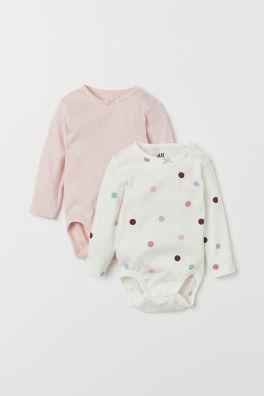 bcc604b2668858 Body niemowlęce dla chłopców – 4 m-2 l. – online   H&M PL