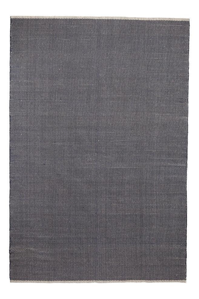 Fersk Stort gulvteppe i bomull - Mørk blå - Home All   H&M NO PI-53
