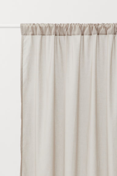 2-pack Curtain Panels - Taupe - Home All | H&M CA