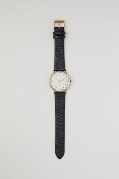 Orologio da polso - Nero -  | H&M IT