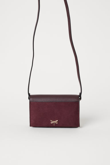 Small shoulder bag - Burgundy - Ladies | H&M IE