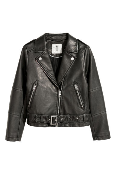 Biker jacket - Black - Kids | H&M