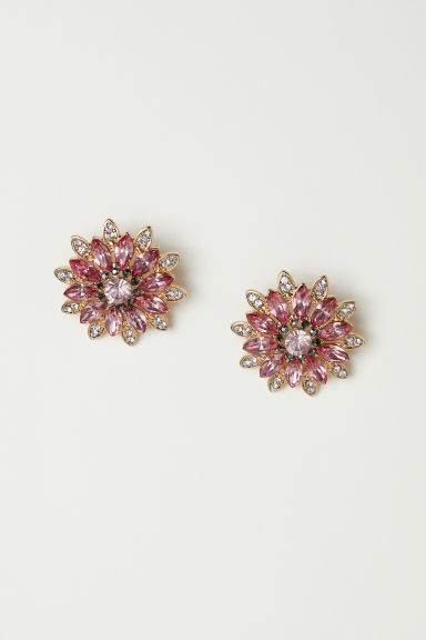 Sparkly earrings - Gold-coloured -  | H&M