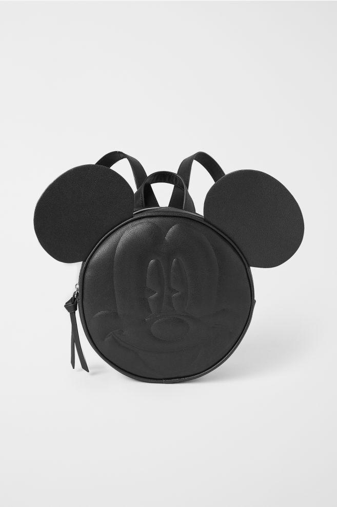 e16e5ceb3 Маленький рюкзак - Черный/Микки Маус -   H&M ...