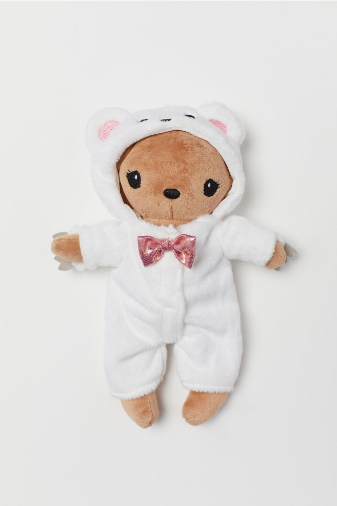 65ba668313d Soft toy with outfit - White Rabbit - Kids