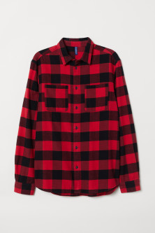 Cotton Flannel Shirt
