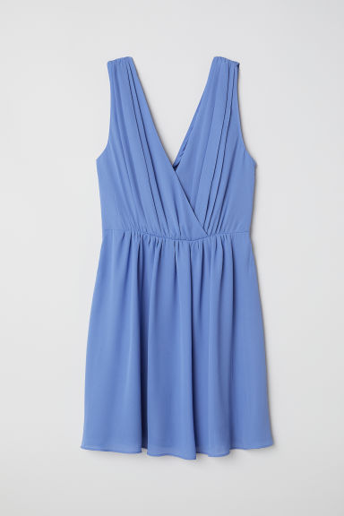 Short dress - Light blue -  | H&M CN