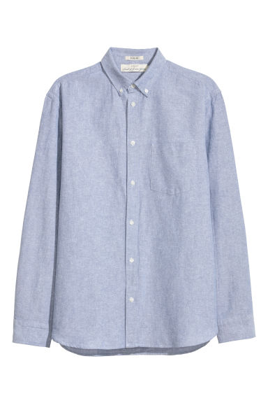 Oxford shirt Regular fit - Light blue -  | H&M