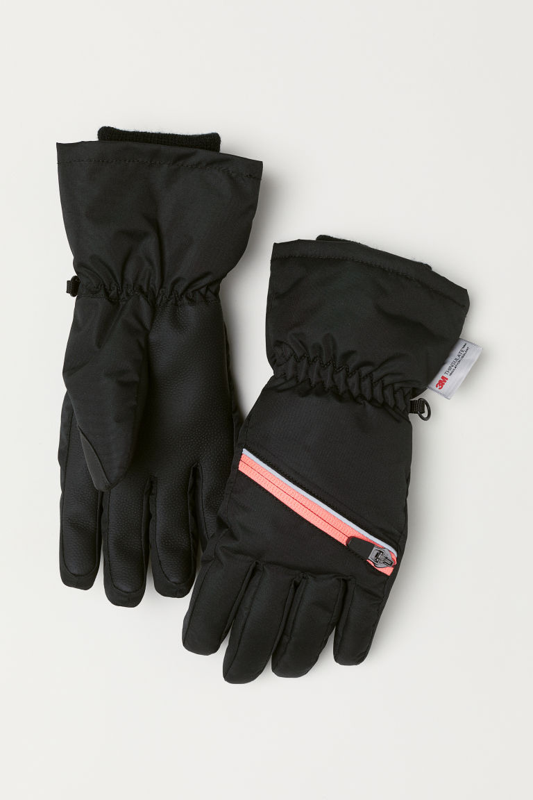Ski gloves - Black - Kids | H&M CN