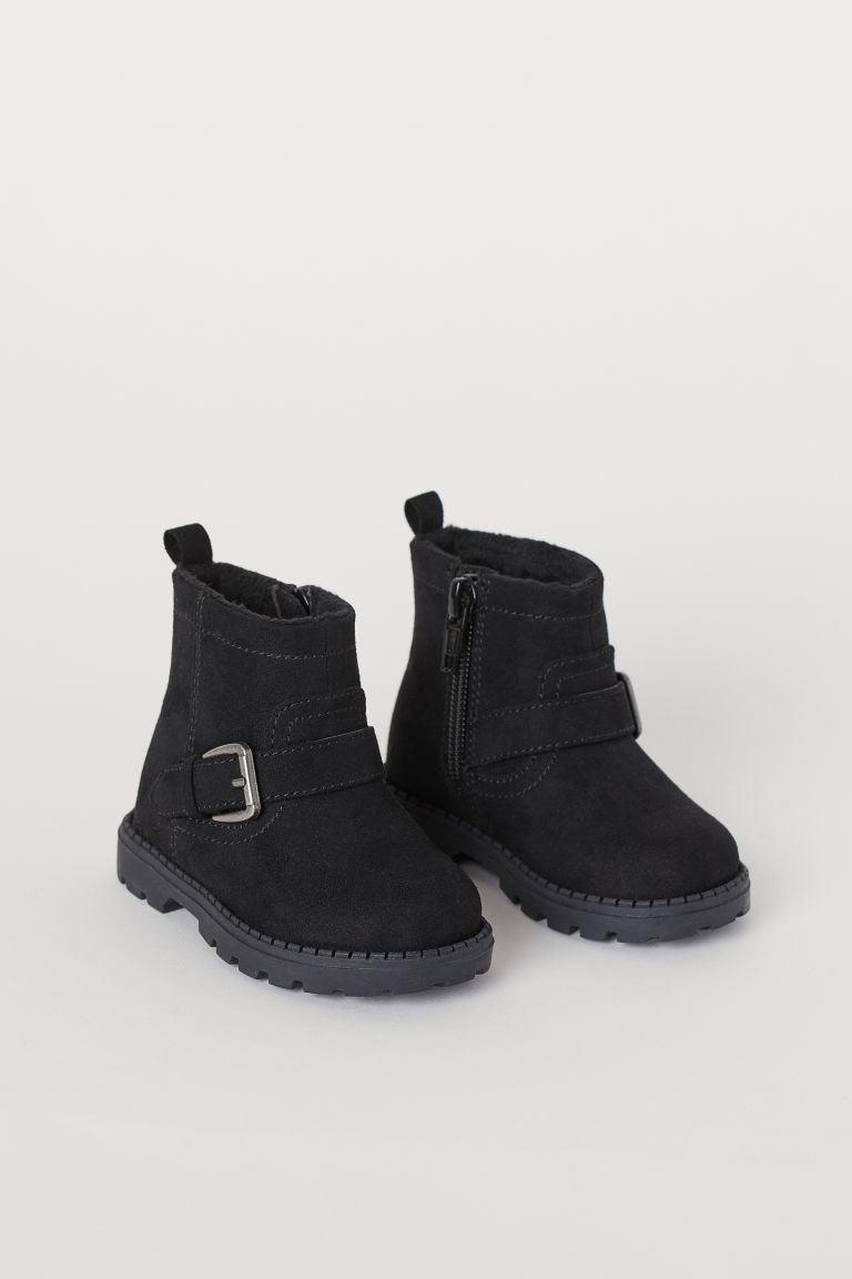 Bottines de style motard - Noir - ENFANT | H&M BE