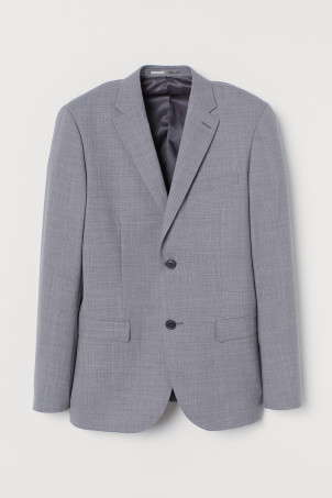Wool jacket Slim FitModel