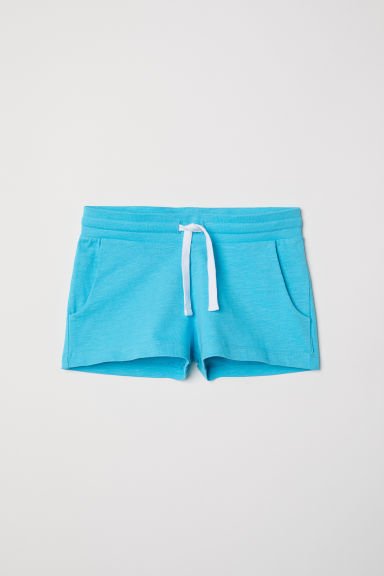 Korte tricot short - Turkoois -  | H&M BE
