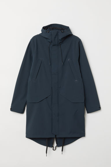 Outdoor parka - Dark petrol - Men | H&M CN
