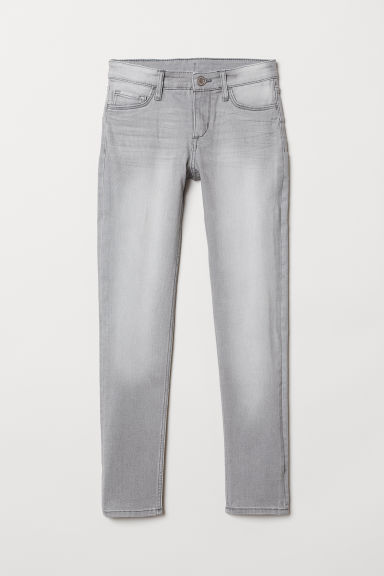 Superstretch Skinny Fit Jeans - Grey - Kids | H&M CN