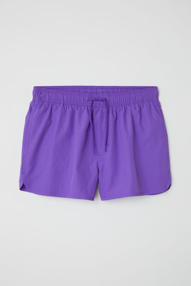 Short swim shorts - Purple - Men | H&M CN