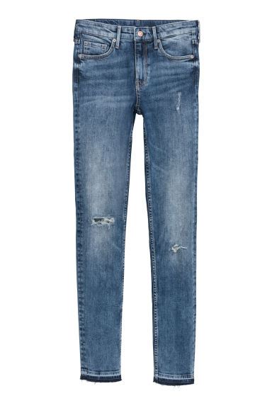 Skinny Regular Jeans - 丹寧藍 - Ladies | H&M
