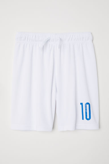 Football shorts - White/10 - Kids | H&M