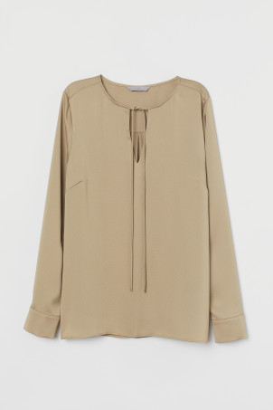 Blouse with Ties