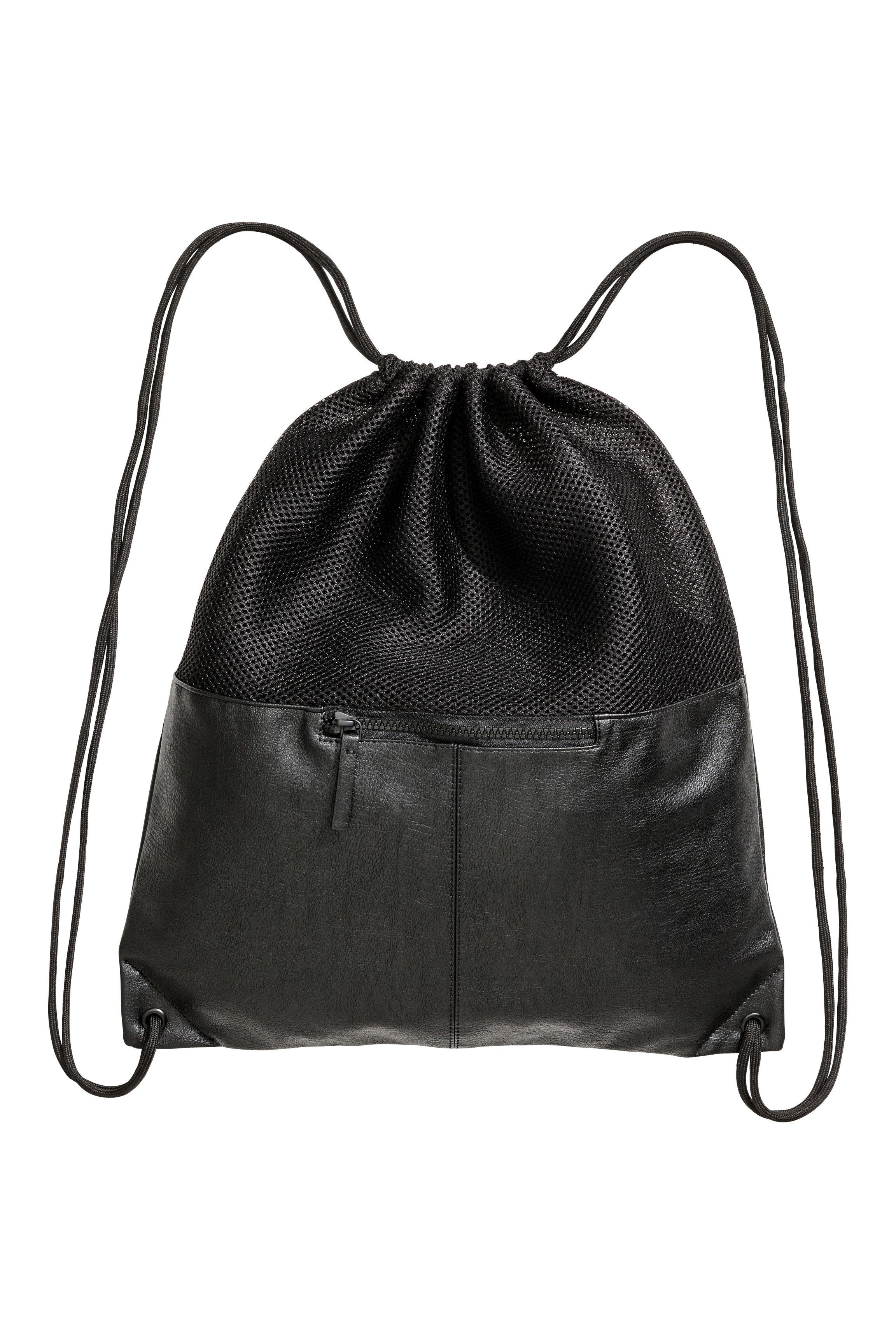 Mesh Gym Bag - Black - Men
